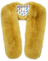 Pologeorgis M'O Exclusive Monogrammable Fur Stole With Silk Lining