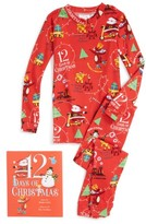 Toddler Books To Bed 12 Days Of Christmas Fitted Two-Piece Pajamas & Book Set