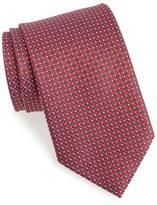 Ermenegildo Zegna Dot & Grid Silk Tie