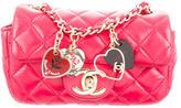 Chanel Extra Mini Valentine Flap Bag