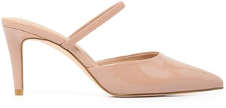 Forever New Jane Pointed Slingback Stiletto Heels - Nude - 36
