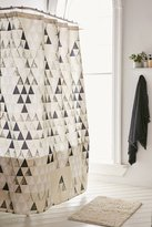 DENY Designs Pattern State For DENY Triangle Shower Curtain