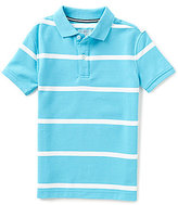 Class Club Big Boys 8-20 Striped Short-Sleeve Polo Shirt