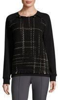Escada Sport Ecamu Tweed Knit Sweater