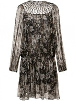 Zimmermann 'gossamer' Lattice Drawn Dress
