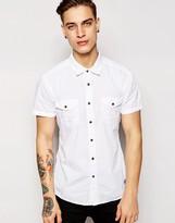 Esprit Short Sleeve Shirt - White