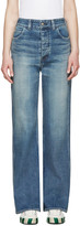 Visvim Blue Social Sculpturess Jeans