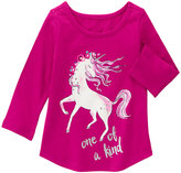 Gymboree Berry 'One of a Kind' Unicorn Top - Infant & Toddler