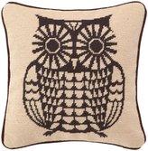 Trina Turk Brown Bujo Needlepoint Pillow