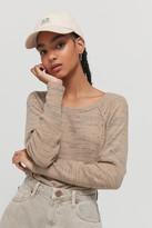 Urban Outfitters Evie Cozy Raglan Top