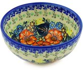 Ceramika Bona H0614F Polish Pottery Ceramic Bowl Hand Painted