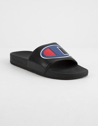 Champion IPO Black Mens Slide Sandals