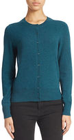 Lord & Taylor Cashmere Button-Front Cardigan