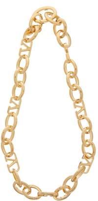 Valentino V-logo Chain Necklace - Womens - Gold
