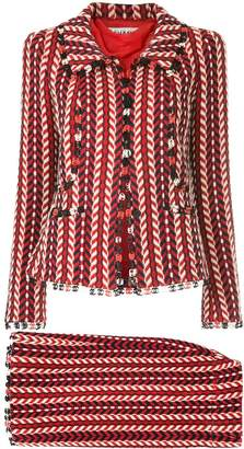 Chanel Pre-Owned 2004 Mademoiselle skirt suit