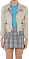 Balenciaga Women's Cotton Crop Bomber Jacket