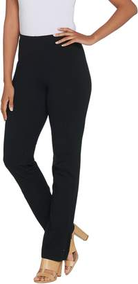 Women With Control Women with Control Regular Convertible Pants w/ Zipper Detail