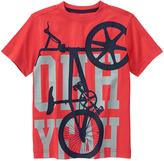 Gymboree Rococco Red 'Ohh Yeah' Bike Tee - Boys