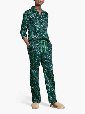 Hush Star Cotton Pyjama Bottoms, Midnight/Jelly Bean
