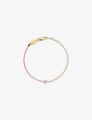 Selfridges Redline 18ct yellow-gold and diamond illusion chain bracelet