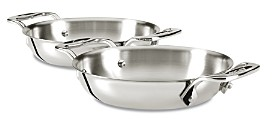 All-Clad Stainless Steel 6 Gratins, Set of 2