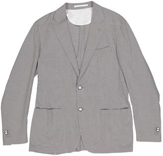 Corneliani Grey Cotton Jackets