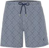 Linea Men's Diamond Geo Print Swim Short