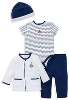 Little Me Infant Boys' Little Waves Four Piece Set - Sizes Newborn-9 Months