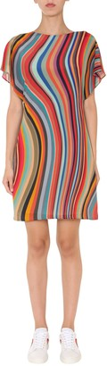 Paul Smith Dress With Striped Pattern