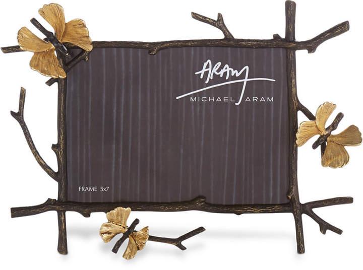 "Michael Aram Butterfly Ginkgo 5x7"" Frame"