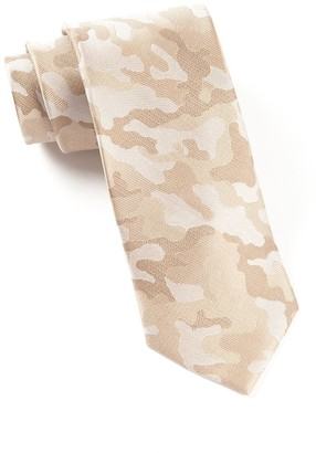 Tie Bar Camo Light Champagne Tie