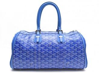 Goyard Croisiere Blue Cloth Travel bags