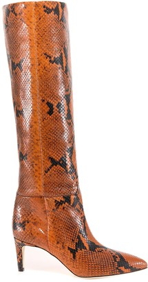 Paris Texas Patterned Knee-Length Boots