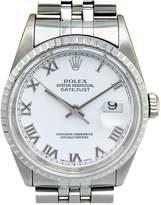 Rolex Datejust 36mm White Steel Watches