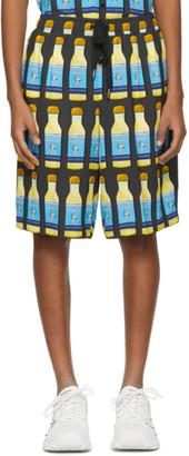 Dolce & Gabbana Grey Perfume Shorts