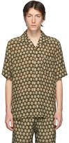 Nanushka Green Ville Short Sleeve Shirt
