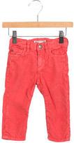Bonpoint Girls' Elasticized Corduroy Pants