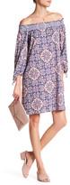 Jessica Simpson Marlika Off-the-Shoulder Print Dress