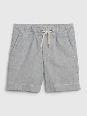 Gap Toddler Railroad Stripe Pull-On Shorts