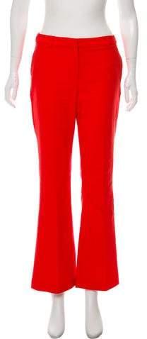 Anine Bing Mid-Rise Wide-Leg Pants