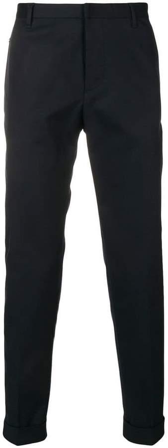 Emporio Armani high rise tailored trousers
