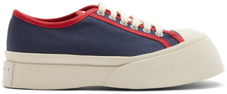Marni Blue and Red Pablo Sneakers
