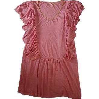 Manoush Pink Linen Dress for Women