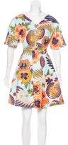 MSGM Short Sleeve Mini Dress