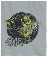 """Disney Star Wars Yoda """"At Peace"""" 50"""" x 60"""" Sweatshirt Throw by Bedding"""