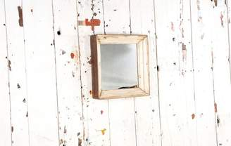 Sg SG - Small Square Wooden Mirror Frame