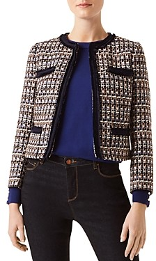 Hobbs London Ayla Tweed Jacket