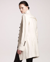 Ann Demeulemeester High-Collar Coat