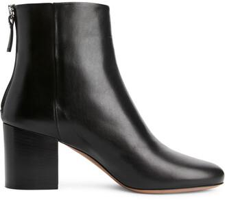 Arket Mid-Heel Leather Boots