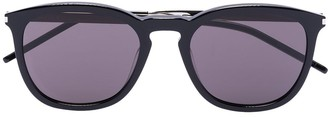 Saint Laurent Round-Frame Tinted Sunglasses